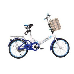 folding bike 12 inch UK - 161007  20 inch portable portable male and female folding bike   adult folding car   student car mini bike Paint frame