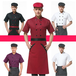 $enCountryForm.capitalKeyWord Australia - Long Sleeve Men Restaurant Chef Jacket For Cook Work Wear Hotel Breathable Double-breasted Woman Chef Uniform Kitchen Tool 89