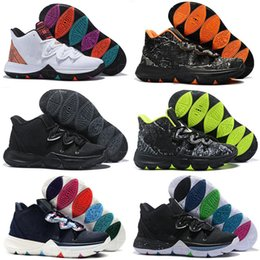 outlet store 4be03 0b4ed 2019 New Kyrie 5 Men Kids Basketball Shoes for Cheap Sale Irving 5s Black  White University Red Bruce Lee Sneakers Sports Trainers
