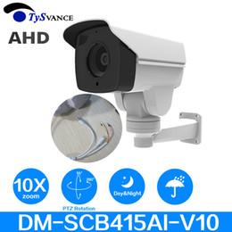 Bullet proof cctv online shopping - Analog P MP CCTV AHD Camera DM SCB415AI V10 mm X Optical Zoom IR PTZ Bullet Camera Security Surveillance Camera