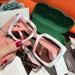 Stylish Glasses Women NZ - Stylish Brand Sunglasses Luxury Sunglasses Fashion Designer Sunglasses for Men Women Glass UV400 with G