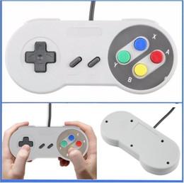 Clássico Controlador USB Controladores de PC Gamepad Joypad Joystick Substituição para Super Nintendo SF para SNES NES Tablet PC LaWindows MAC dhlfree venda por atacado