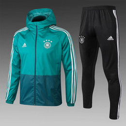 Germany tracksuit online shopping - 2018 Germany hoodie Muller Neuerr long sleeve tracksuits soccer jersey Gundogan coupe vent Reus windbreaker Kroos training shirt hooded