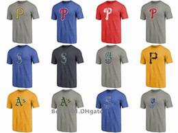 7063366f0 Men Women Youth Mariners Pirates Phillies Athletics Royals Rockies Sox  Distressed Team Tri-Blend T-Shirt