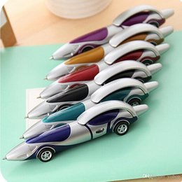 Student Cars Australia - New Arrivals Stationery Cute Plastic Car Shape Pens Creative Ball Point Pen School Office Supply pen for children Kawaii students' gift