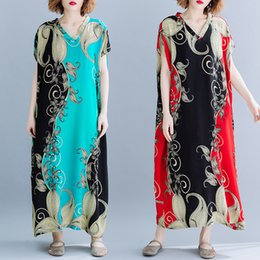 0f0dcb8a1c857 Discount Plus Size Bohemian Linen Dresses   Plus Size Bohemian Linen ...