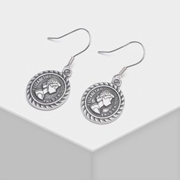 Round gold eaRRings designs online shopping - Local focal silver Round head design fashionable delicate drop earrings