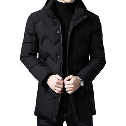 high hat stands NZ - High quality Winter Jacket Men Clothes Casual Stand Collar Collar Fashion new Winter Coat Men Large size thick jacket
