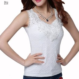 white crochet blouse NZ - Blouses Sexy Womens Blouse Summer Elegant Sleeveless Black Crochet Lace Shirt White Tops And Woman Blusas Vest Camisa