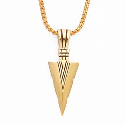 $enCountryForm.capitalKeyWord UK - Factory wholesale Hip hop necklace Eco-friendly material Triangle Hip hop pendant necklace for men Hiphop pendant jewelry cheap price