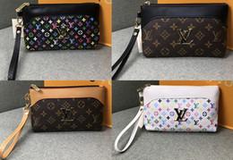 2862feb68b87 Мода мужской кошелек роскошный классический звездный дизайнер кошелек  стильный женский дизайнер кошелек повседневная сумка для покупок кошелек