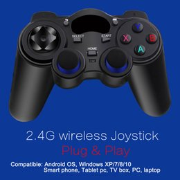 China 10pcs 2.4G Wireless Game player Controller Gamepad Joystick mini keyboard remoter for Android Video Games With Retail Box,PK controller ps4 suppliers