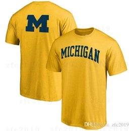 5fda28ae Michigan Wolverines Branded 2018 NCAA Men's Basketball Tournament Final  Four Bound Charge T-Shirt College Uniform Shirts