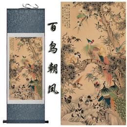 $enCountryForm.capitalKeyWord Australia - Birds Art Painting Silk Scroll Paintings Decorated Living Room Art Painting2019061418