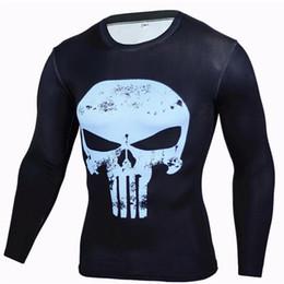 Jerseys Wolf Australia - Mens Compression Shirts 3D Teen Wolf Jerseys Long Sleeve T Shirt Fitness Men Lycra MMA Crossfit T-Shirts Tights Brand Clothing C14