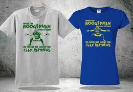 6d7d39a5c4 Packers Green NZ - Clay Matthews Bay Packers Boogeyman T-Shirt  Men's&Women's Size Tee NewFunny