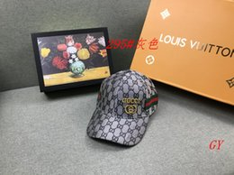 Woman hat types online shopping - 8GUCCI baseball caps hats brand icon Cotton Embroidery hats men snapback hat women casual a1 visor Louis Vuitton GUCCI