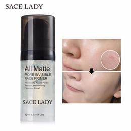Brand Gel Australia - SACE LADY Face Primer Makeup Base Matte Pores Foundation Oil Control Natural Facial Pro Make Up Brand Moisturizer Mate Cosmetic
