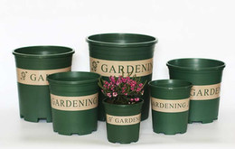 Green Box Containers Australia - Garden pots Box Garden Container Grow Bag Garden Supplies Green Various Specifications Balcony Flowers Fashion New
