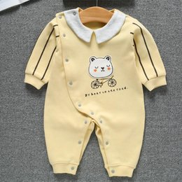 Brand Factory Clothes Australia - baby onesies baby clothes factory direct sales 2019 new spring cotton romper cotton newborn onesies baby clothing