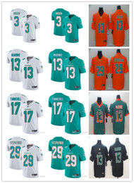 $enCountryForm.capitalKeyWord Australia - Miami Men Dolphins 29 Minkah Fitzpatrick 13 Dan Marino 17 Ryan Tannehill 3 Josh Rosen Football Jerseys Custom Green White Inverted Legend