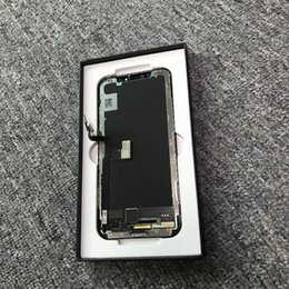 Iphone repaIr screens online shopping - GX Hard Amoled Repair part LCD For iPhone X LCD Display Touch Screen Digitizer Complete Assembly Replacement