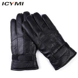 $enCountryForm.capitalKeyWord Australia - ICYMI 2018 Newest Sheepskin Leather Men's Gloves Thick Warm Winter Gloves Genuine Leather Outdoor Driving Gloves for Men