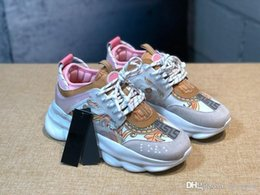 $enCountryForm.capitalKeyWord Australia - 2019 Chain Reaction Men Women Luxury Designer Shoes Best Quality Fashion Trainers Sneakers Casual Shoes With Dust Bag  l;'l; ;l l; l;