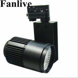 $enCountryForm.capitalKeyWord UK - Fanlive 40W COB Track Lamp Lights ac110v 220v Rail Spotlights Leds Tracking Fixture Spot Lights Reflectors For Clothes Store