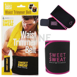 Hot Sale Sweet Sweat Premium Waist Trimmer Belt Men Women Belt Slimmer Exercise Ab Waist Wrap with color retail box on Sale