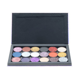 magnetic palette empty Australia - 18   9Colors Empty Eyeshadow Magnetic Suction Storage Box Makeup Eyeshadow Palette Flash Cosmetics