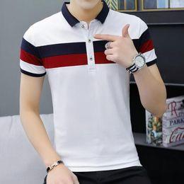 $enCountryForm.capitalKeyWord NZ - 2019 Summer Mens Polo Fashion Designer Tshirts for Men Brand Polo Shirts Short Sleeve Streetwear Breathable Mens Tees Shirts 2 Colors M-4XL