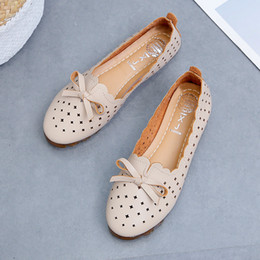 $enCountryForm.capitalKeyWord Australia - Shoes Women Summer Spring Woman Flats Casual Female Boat Shoes Fashion Hollow Loafers Flat With For Ladies