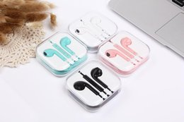 Microphone Connectors Australia - In Ear Earphone with connector headphones phone earphone With Remote Mic Control for 7 7 plus 8 X