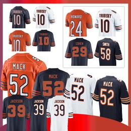 39 Jackson Eddie 52 Khalil Mack CHICAGO BEARS jersey 58 Roquan Smith 17  nthony Miller 24 Howard 15 Allen Robinson 29 Tarik Cohen 13703849e