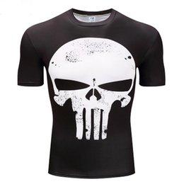 T Shirt Digital Printing Sport Australia - Shantou male T-shirt sports elastic tights male T-shirt quick-drying sweat-absorbent digital printing fitness