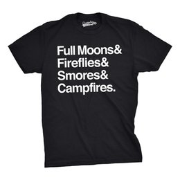 $enCountryForm.capitalKeyWord UK - Mens Full Moons Fireflies Smores Campfires Funny Summertime Camping Nature T Funny 100% Cotton T Shirt white black grey red trousers tshirt