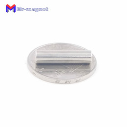 stationery magnets NZ - Imanes De Nevera 50pcs 5 X 20 Mm Magnet Cylinder Ndfeb Rare Earth D5*20 Super Strong Permanent Stationery Box Neo Magnets 5x20 D5x20