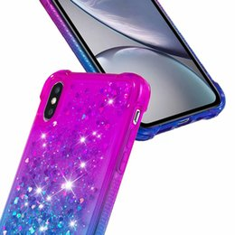 iphone luxury metallic 2020 - Quicksand Soft TPU Cases For LG Stylo 4 P Smart 2019 Galaxy A7 A9 2018 J4 J6 Luxury Shockproof Metallic Heart Gradient C