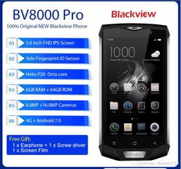 5.5 inch screen smartphone greece online shopping - IP68 Waterproof Blackview BV8000 Pro Smartphone MT6757 Octa core inch Cellphone GB RAM GB ROM MP Fingerprint G LTE Phone