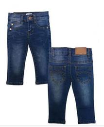 NewborN tutu size online shopping - Baby Boys Girls Jeans For Kids Pants Designer Children Clothing Autumn Boy Girl Denim Long Pants Newborn Trousers size month