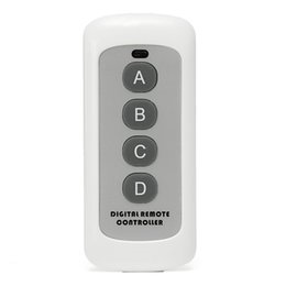 $enCountryForm.capitalKeyWord Australia - 433MHz 4 Button EV1527 Code Remote Control Switch RF Transmitter Wireless Key for Smart Home Garage Door Opener (no battery)