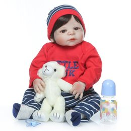 Npk silicoNe dolls online shopping - NPK Full body silicone boneca reborn corpo de silicone bebe doll reborn baby dolls soft touh Christmas Gift toys for children
