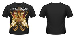 $enCountryForm.capitalKeyWord NZ - New Official LAMB OF GOD - TANGLED BONES T-Shirt top quality Hipster O-Neck Casual Tees Men Hot Cheap New Brand-Clothing Tee