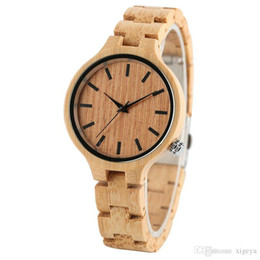 $enCountryForm.capitalKeyWord Australia - High Brand Women Fashion Accessories Watch Luxury Full Bamboo Wooden Wristwatches Leisure Sport Style for Elegant Ladies Birthday Gifts