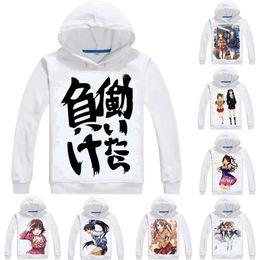 Futaba online shopping - Anime Hoodies The Idolmaster Cinderella Girls D Hoodies Multi style Long Sleeve Hooded Anzu Futaba Cosplay Sweatshirts