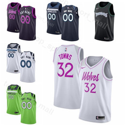 f64ea289c Printed Man Kids Lady Minnesota Basketball Timberwolves Derrick Rose Jersey  Karl Anthony Towns Andrew Wiggins Jeff Teague Robert Covington