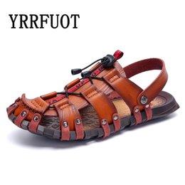 $enCountryForm.capitalKeyWord Australia - YRRFUOT Summer Sandals Men Outdoor Non-slip Beach Shoes Original Men's Slippers Outdoor Non-slip Flats Shoes Sandals Men 46 47