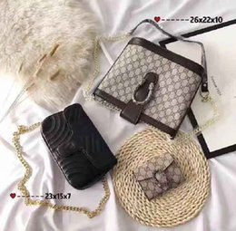 $enCountryForm.capitalKeyWord Australia - Designer Handbags Brand Bag Paris Real Leather Luxury Handbags Shopping Bag Shoulder Bag Fashion Clutch Bags Wallet Purse 1 Piece=3 bags Q23