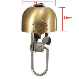 Sound Bicycle Australia - Cycling bicycle bells aluminum horn ring MTB bicycle mini bell handlebar ring clear loud sound bicycle accessories wholesale